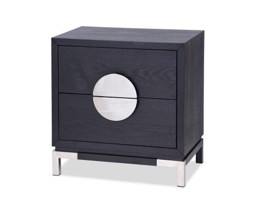 L&E Otium Bedside Table – Wenge Ash Veneer – PSS (3)