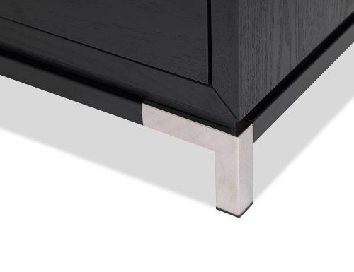 L&E Otium Bedside Table – Wenge Ash Veneer – PSS (4)
