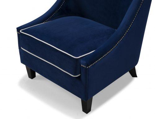 Liang & Eimil HA-OCH-019-Elger Arm Chair Marine Blue (1)