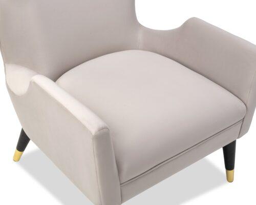 Liang & Eimil Vendome Occasional Chair Limestone Velvet BH-OCH-130 (13)-min