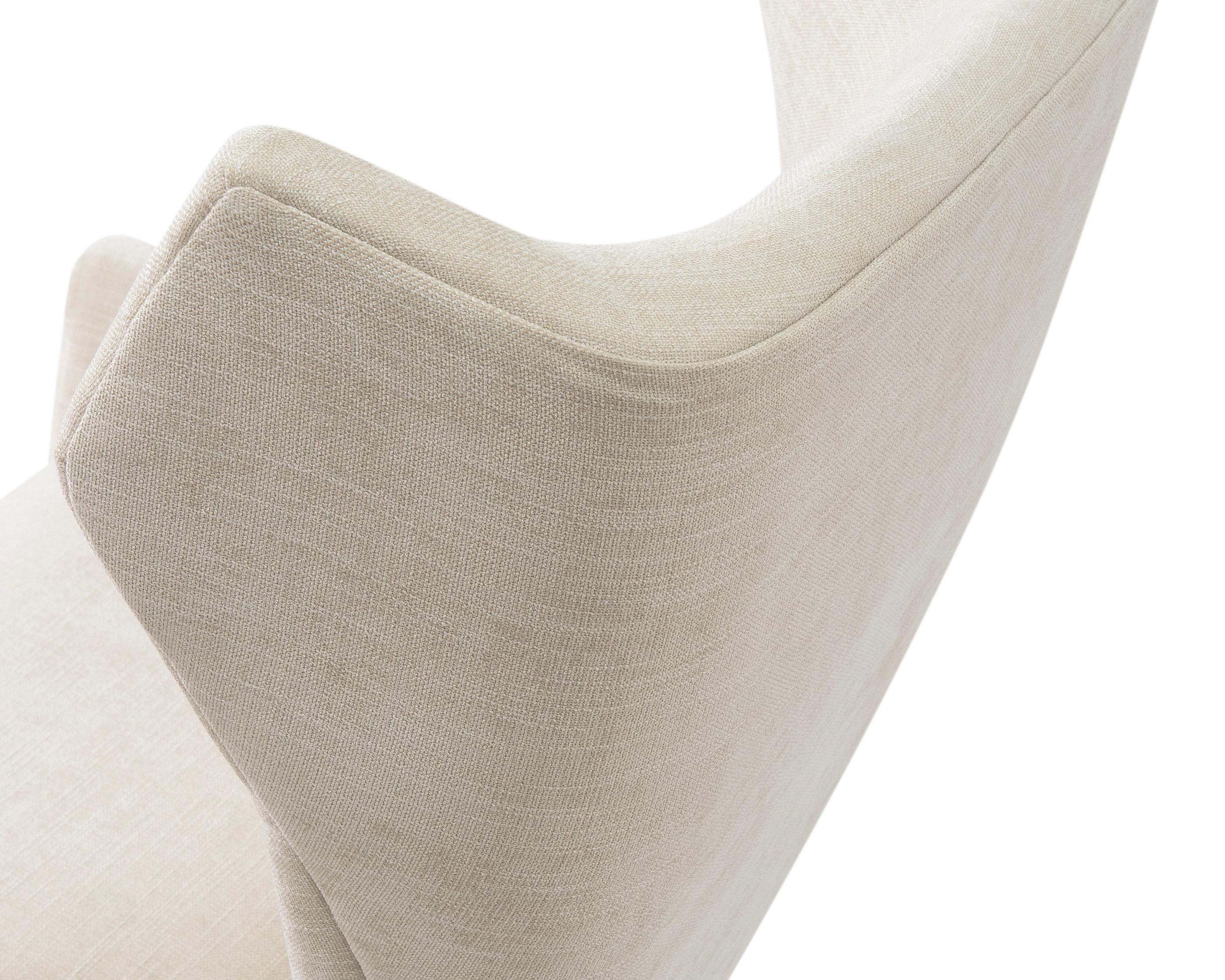 L&E Vendome Occasional Chair – Beige Chenille (BH-OCH-018) (1)
