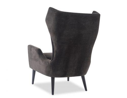 L&E Vendome Occasional Chair – Jet Black Velvet (BH-OCH-019) (3)