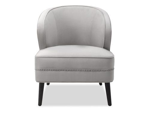 Liang & Eimil Lindsay Occasional Chair Fog Grey Velvet BH-OCH-137 (2)