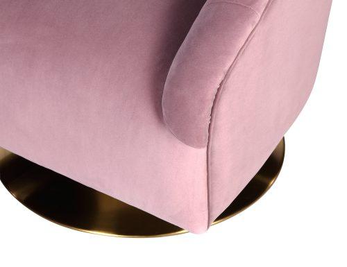 L&E Bogart Occasional Chair – Kaster Lilac Velvet (MY-OCH-043) (1)