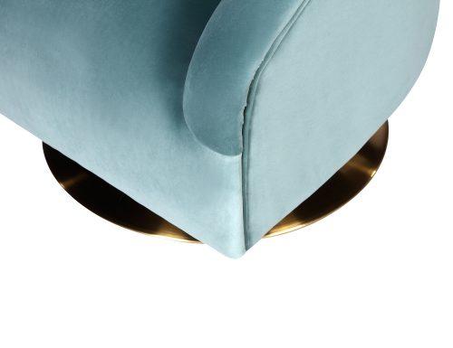L&E Bogart Occasional Chair – Kaster Veranda Velvet (MY-OCH-044) (1)