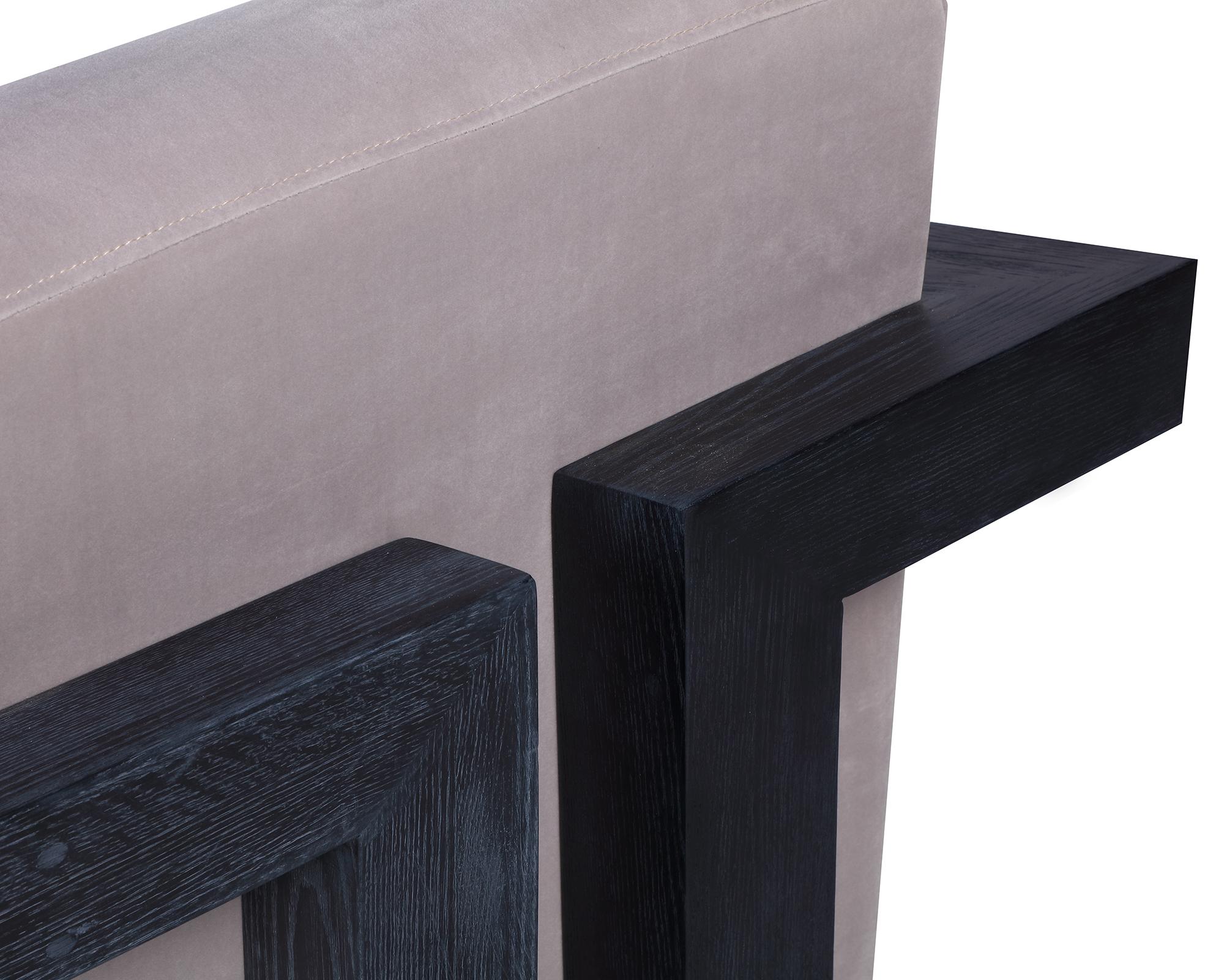 L&E Compton Occasional Chair – Kaster Light Grey Velvet (MY-OCH-046) (3)