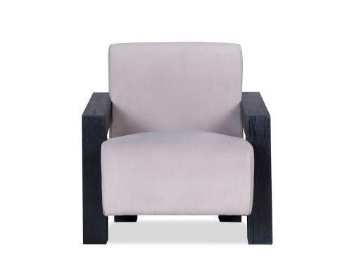 L&E Compton Occasional Chair – Kaster Light Grey Velvet (MY-OCH-046) (6)