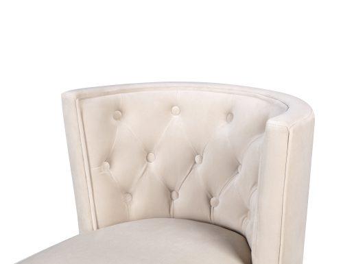 L&E Kelly Dining Chair – Kaster Pebble Velvet (MY-DCH-034) (6)
