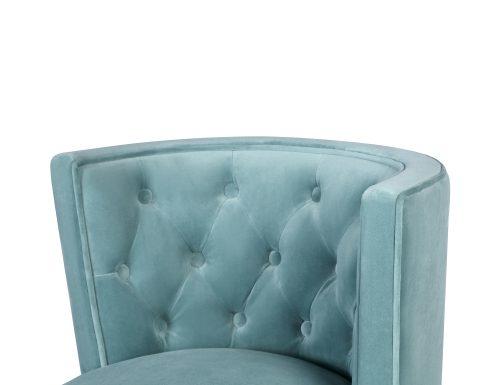 L&E Kelly Dining Chair – Kaster Veranda Velvet (MY-DCH-038) (1)