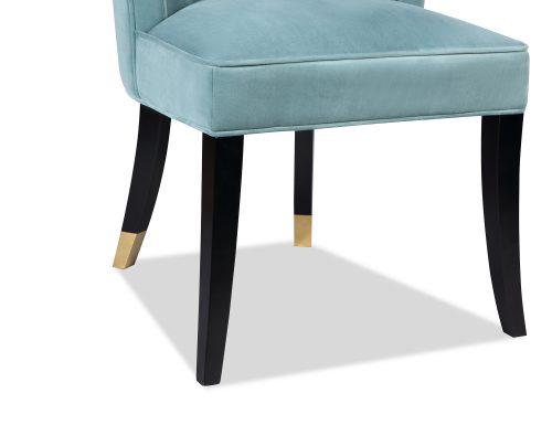 L&E Kelly Dining Chair – Kaster Veranda Velvet (MY-DCH-038) (2)