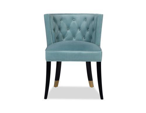 L&E Kelly Dining Chair – Kaster Veranda Velvet (MY-DCH-038) (3)