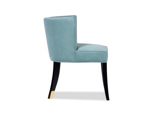 L&E Kelly Dining Chair – Kaster Veranda Velvet (MY-DCH-038) (5)
