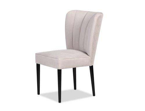 L&E Novak Dining Chair – Kaster Light Grey Velvet (MY-DCH-033) (3)