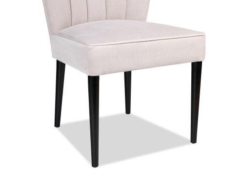 L&E Novak Dining Chair – Kaster Light Grey Velvet (MY-DCH-033) (5)