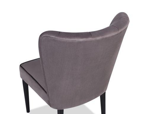 L&E Novak Dining Chair – Kaster Steel Velvet (MY-DCH-032) (4)