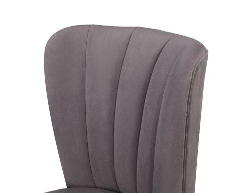 L&E Novak Dining Chair – Kaster Steel Velvet (MY-DCH-032) (5)