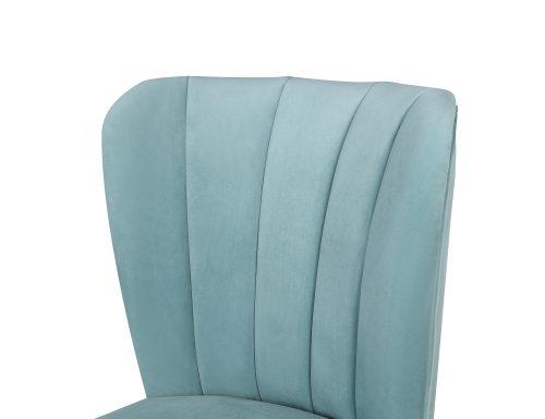 L&E Novak Dining Chair – Kaster Veranda Velvet (MY-DCH-031) (1)