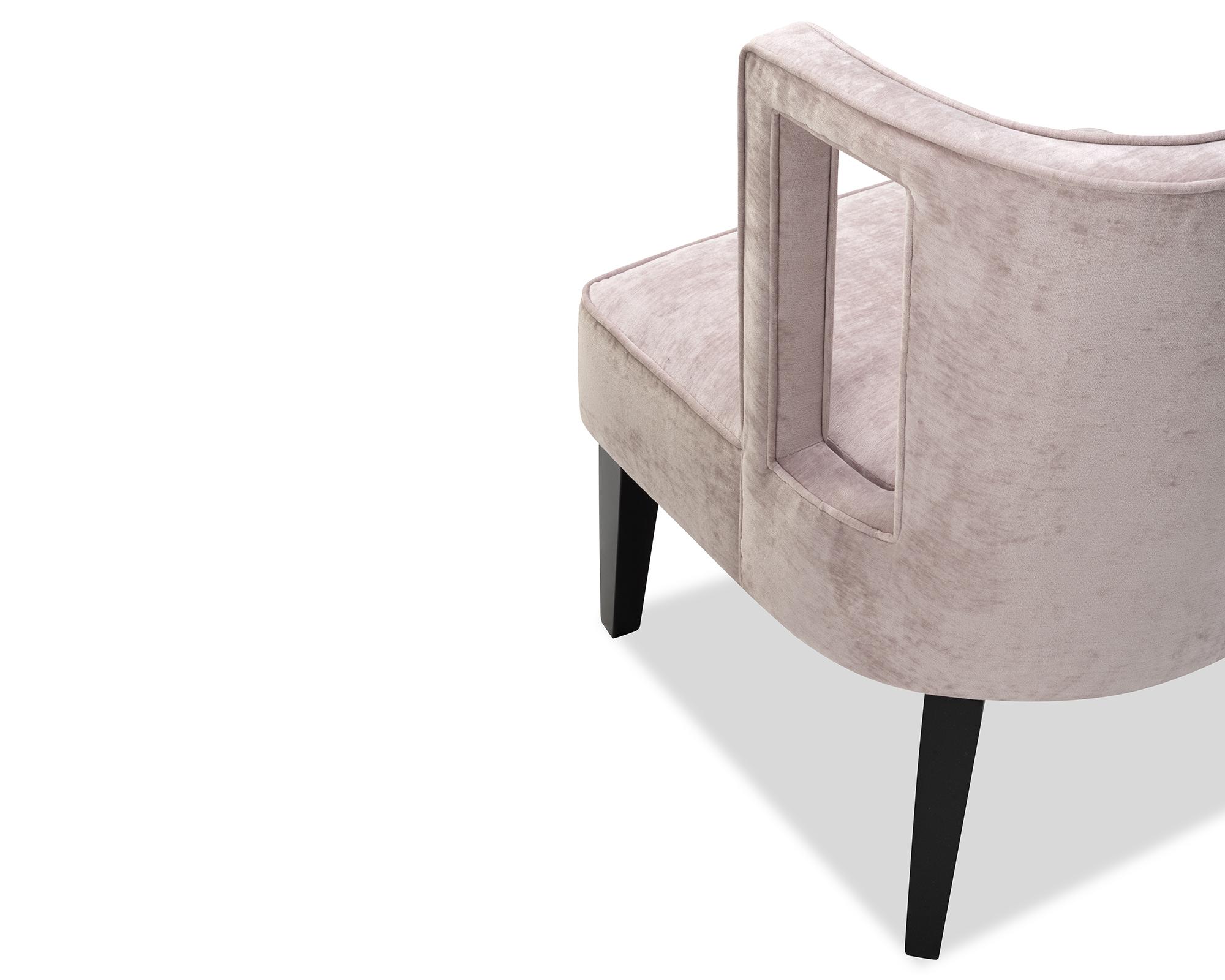 Liang & Eimil Cara Occasional Chair Lavender Velvet BH-OCH-083 (1)