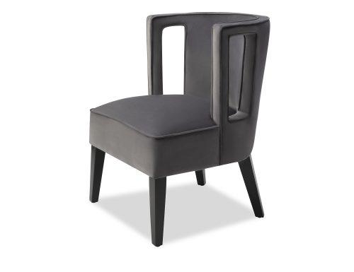 Liang & Eimil Cara Occasional Chair Night Grey Velvet BH-OCH-082 (4)