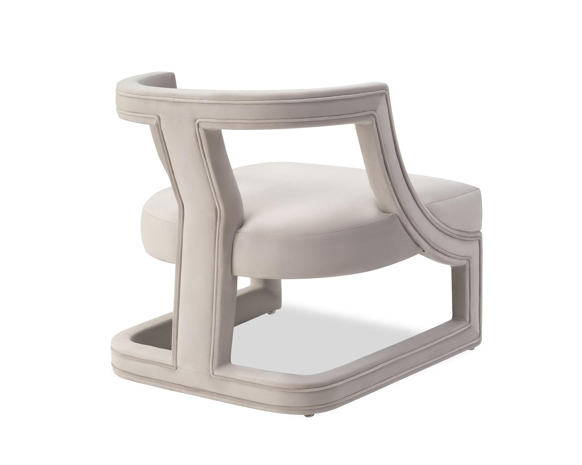 Liang & Eimil Jimi Occasional Chair Limestone Velvet BH-OCH-113 (1)