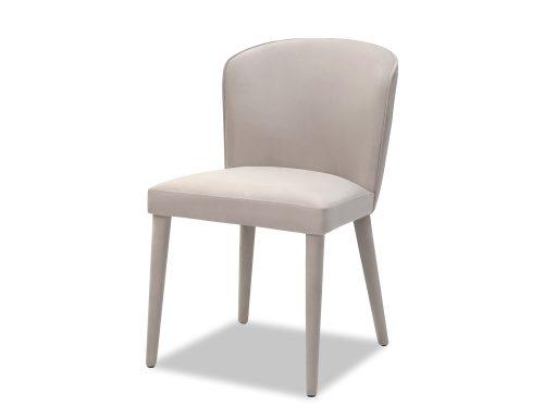 Liang & Eimil Kay Dining Chair Limestone Velvet BH-DCH-076 (1)