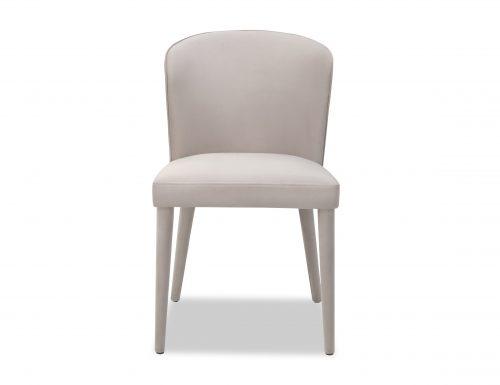 Liang & Eimil Kay Dining Chair Limestone Velvet BH-DCH-076 (2)