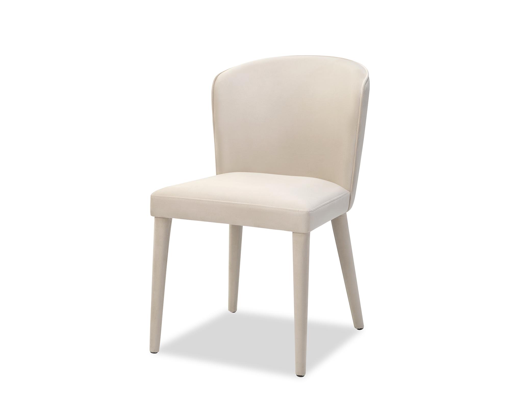 Liang & Eimil Kay Dining Chair Tan Beige Velvet BH-DCH-134 (1)