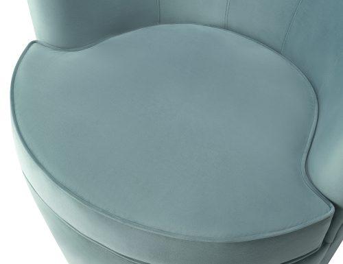 Liang & Eimil Kiss Occasional Chair Deep Turquoise Velvet BH-OCH-086 (1)