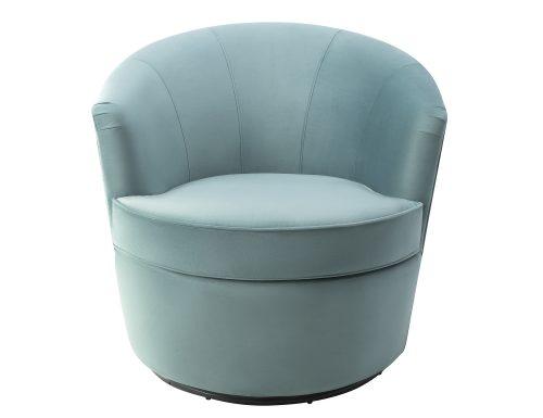Liang & Eimil Kiss Occasional Chair Deep Turquoise Velvet BH-OCH-086 (2)