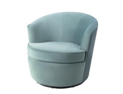 Liang & Eimil Kiss Occasional Chair Deep Turquoise Velvet BH-OCH-086 (3)