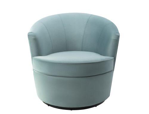 Liang & Eimil Kiss Occasional Chair Deep Turquoise Velvet BH-OCH-086 (4)
