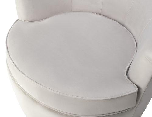 Liang & Eimil Kiss Occasional Chair Fog Grey Velvet BH-OCH-087 (1)