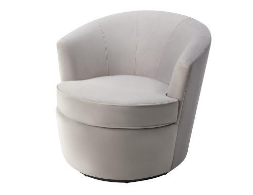 Liang & Eimil Kiss Occasional Chair Fog Grey Velvet BH-OCH-087 (3)