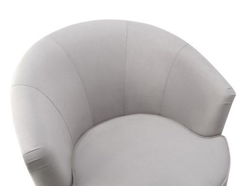 Liang & Eimil Kiss Occasional Chair Fog Grey Velvet BH-OCH-087 (5)