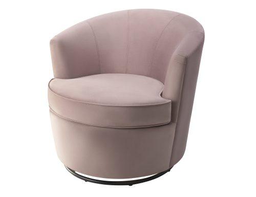 Liang & Eimil Kiss Occasional Chair Lilac Velvet BH-OCH-085 (1)