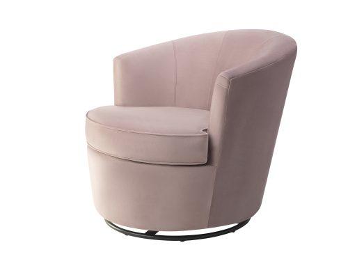 Liang & Eimil Kiss Occasional Chair Lilac Velvet BH-OCH-085 (2)
