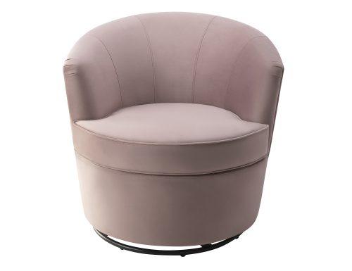 Liang & Eimil Kiss Occasional Chair Lilac Velvet BH-OCH-085 (5)