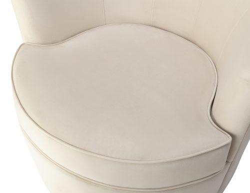Liang & Eimil Kiss Occasional Chair Tan Beige Velvet BH-OCH-084 (1)