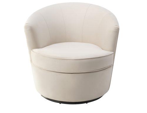Liang & Eimil Kiss Occasional Chair Tan Beige Velvet BH-OCH-084 (2)