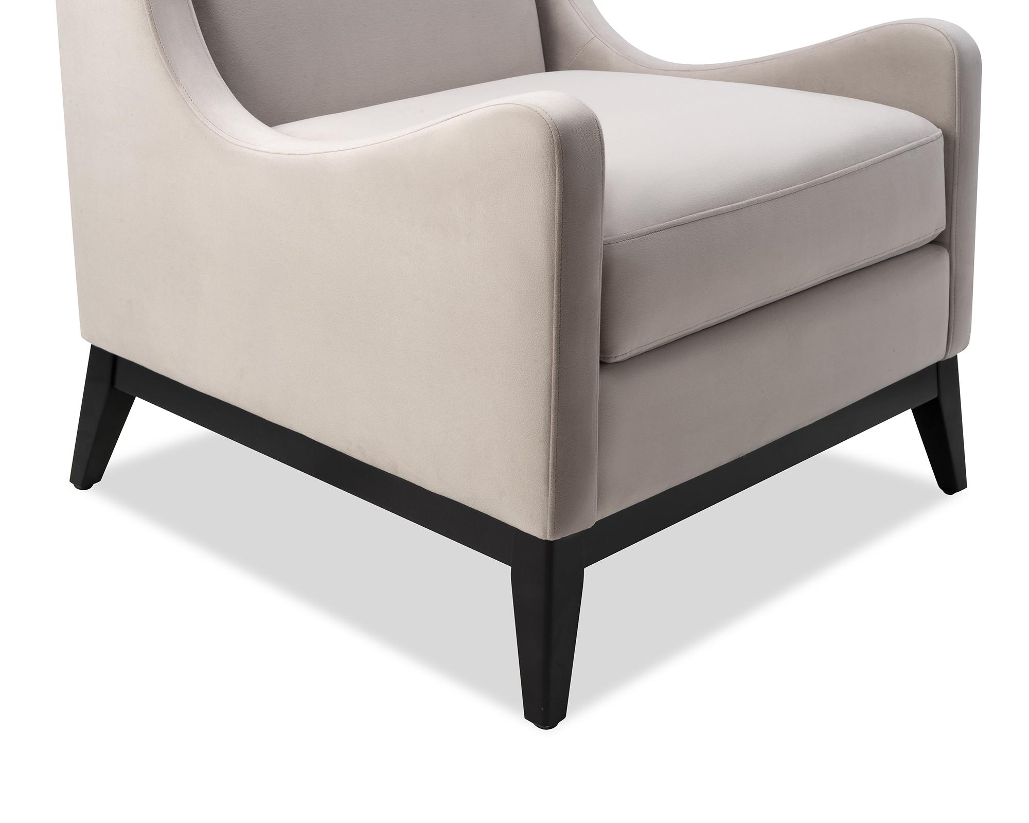 Liang & Eimil Lima Occasional Chair Limestone Velvet BH-OCH-089 (1)
