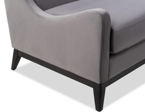 Liang & Eimil Lima Occasional Chair Night Grey Velvet BH-OCH-088 (1)