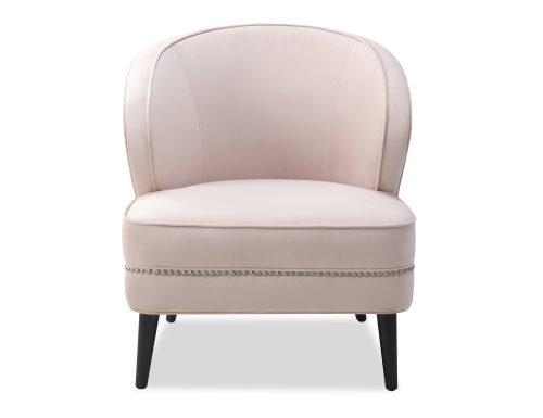 Liang & Eimil Lindsay Occasional Chair Blush Velvet BH-OCH-118 (2)