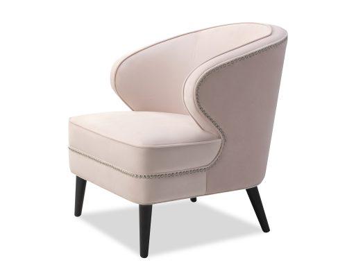 Liang & Eimil Lindsay Occasional Chair Blush Velvet BH-OCH-118 (4)