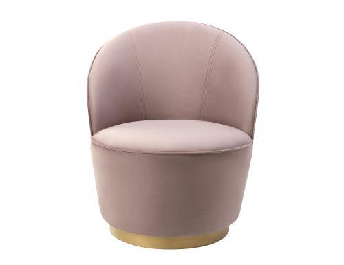 Liang & Eimil Miu Occasional Chair Lilac Velvet BH-OCH-128 (2)