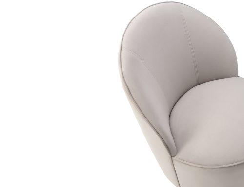 Liang & Eimil Miu Occasional Chair Limestone Velvet BH-OCH-132 (1)