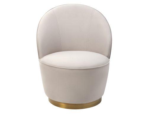 Liang & Eimil Miu Occasional Chair Limestone Velvet BH-OCH-132 (2)