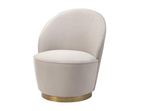 Liang & Eimil Miu Occasional Chair Limestone Velvet BH-OCH-132 (3)