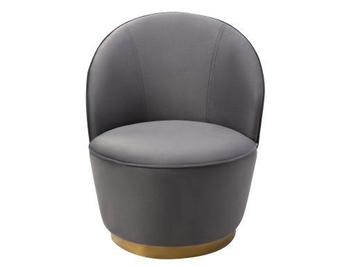 Liang & Eimil Miu Occasional Chair Night Grey Velvet BH-OCH-127 (2)