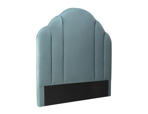 Liang & Eimil Roseberry Headboard Deep Turquoise Velvet BH-HB-122 (1)