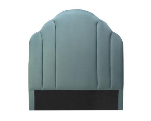 Liang & Eimil Roseberry Headboard Deep Turquoise Velvet BH-HB-122 (2)
